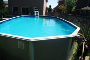 above ground round pool